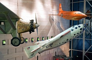 SSI is now exhibited in the Smithsonian, alongside the Bell X-1 and the Spirit of St. Louis.