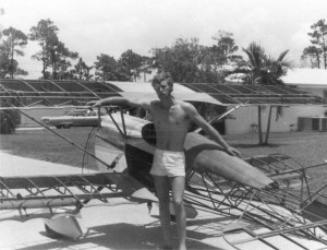 Kermit Weeks started taking flying lessons at 16 and soloed when he was 17. During high school, he bought a set of plans for a modern homebuilt aircraft fashioned after a German WW I fighter. He had built most of his Der Jager D-1X before graduating.