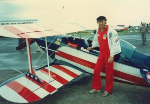 At the age of 25, Kermit Weeks entered his first World Aerobatic Championships, in Ceske Budejovice, Czechoslovakia, in 1978. Flying the Weeks Special, he was second overall, winning three silvers and a bronze.