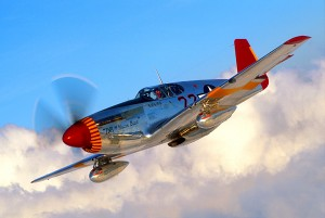 The Macon Belle, a rare P-51C, is one of three Mustangs owned by Kermit Weeks. He also has a P-51A and P-51D.