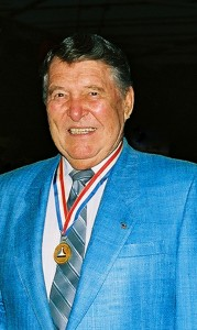 Wally Schirra was enshrined in the National Aviation Hall of Fame in 1986. His accomplishments also earned him induction into the U.S. Astronaut Hall of Fame, in 1990, and the Naval Aviation Hall of Honor, in 2000.