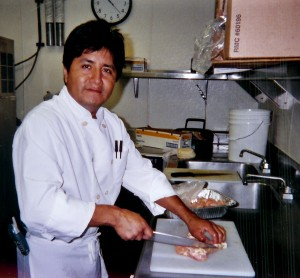 "Executive chef and general manager Ignacio ""Moe"" Valencia worked his way up through California's country club circuit to become the visionary chef behind Isaac's Catering."