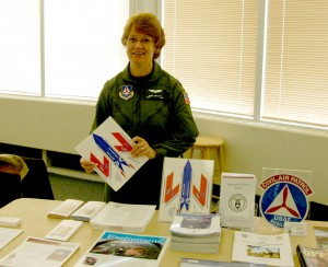 Captain Carol McCloud represented the New Jersey Civil Air Patrol. Founded more than 60 years ago, CAP is an auxiliary of the U.S. Air Force.
