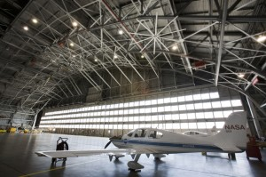 NASA's Langley Research Center in Hampton, Va., bought fans primarily for summer cooling but found them useful for moving heated air from the high ceilings to floor level during winter months.