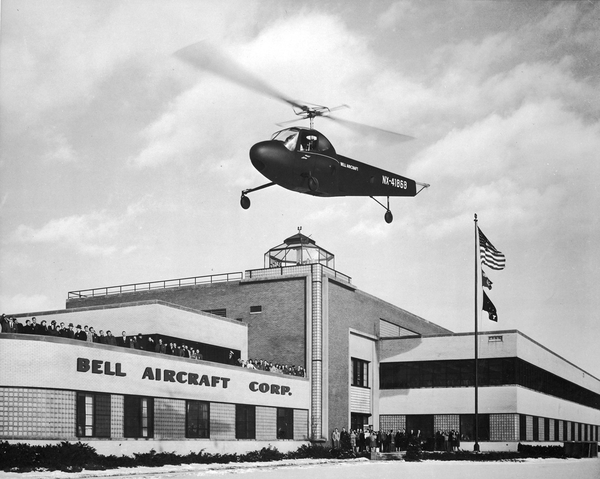 Larry Bell: Aviation's Super Salesman