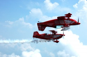 "The Red Eagles' ""Magic in the Air"" aerobatics show will be a new attraction at this year's Northwest EAA Fly-In and Sport Aviation Conference."