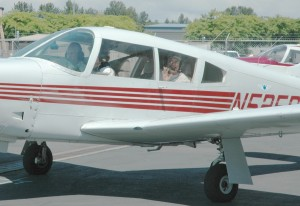 Flight time is one of the highlights of summer aviation studies at Paine Field.