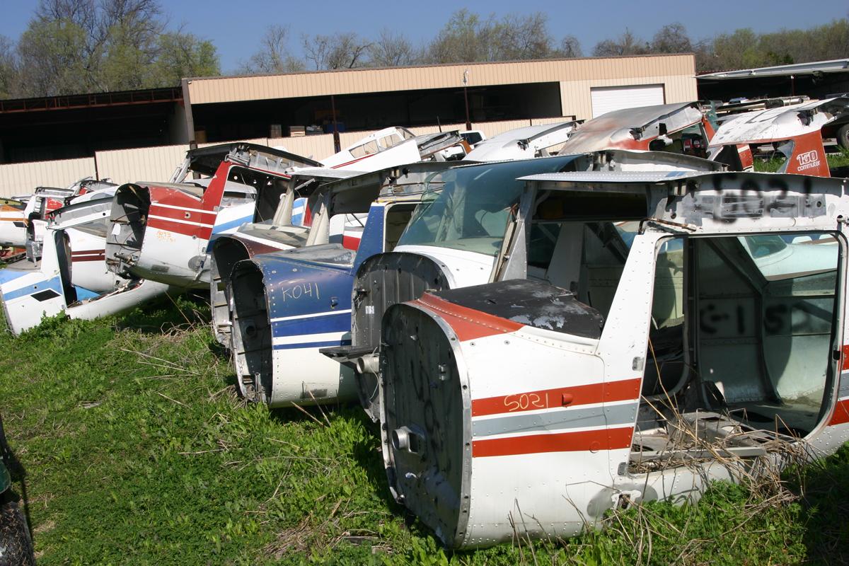 salvage aircraft fuselage