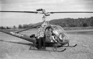 Wes Lematta's first helicopter, a Hiller 12B, started out as a novelty. On weekends, he sold helicopter rides from his yard to curious people who wanted to try a flight in the strange-looking aircraft.