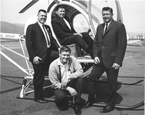 Clockwise from top: Ed, Bill, Jim and Wes Lematta worked to build Columbia Helicopters into the world's largest operator of heavy-lifting whirlybirds.