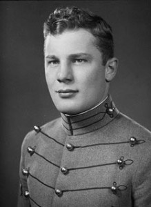 Cadet Robin Olds attended the U.S. Military Academy at West Point.