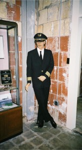 Eastern Airlines pilots wore this uniform in 1940.