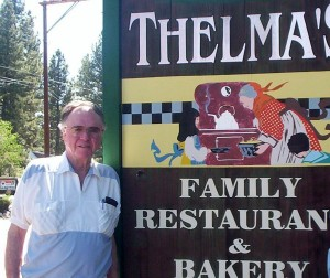 Doug Rankin likes to fly up to Big Bear Lake for lunch at Thelma's Family Restaurant, two blocks from the airport.