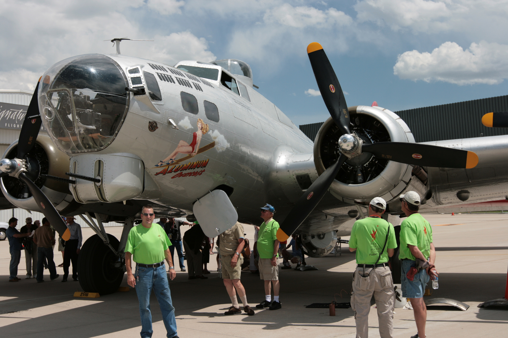 A Trip to Remember: Flying on Aluminum Overcast, EAA's B-17G Flying Fortress