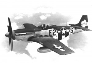 The P-51 Mustang, a long-range single-seat fighter aircraft, was the first fighter that could escort bombers deep into enemy territory. The P-51 became one of WWII's most successful and recognizable aircraft.