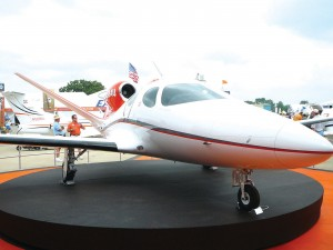 The Eclipse Concept Jet, my favorite, actually flew at AirVenture. Eclipse hasn't announced a price, or even if the company will sell it.