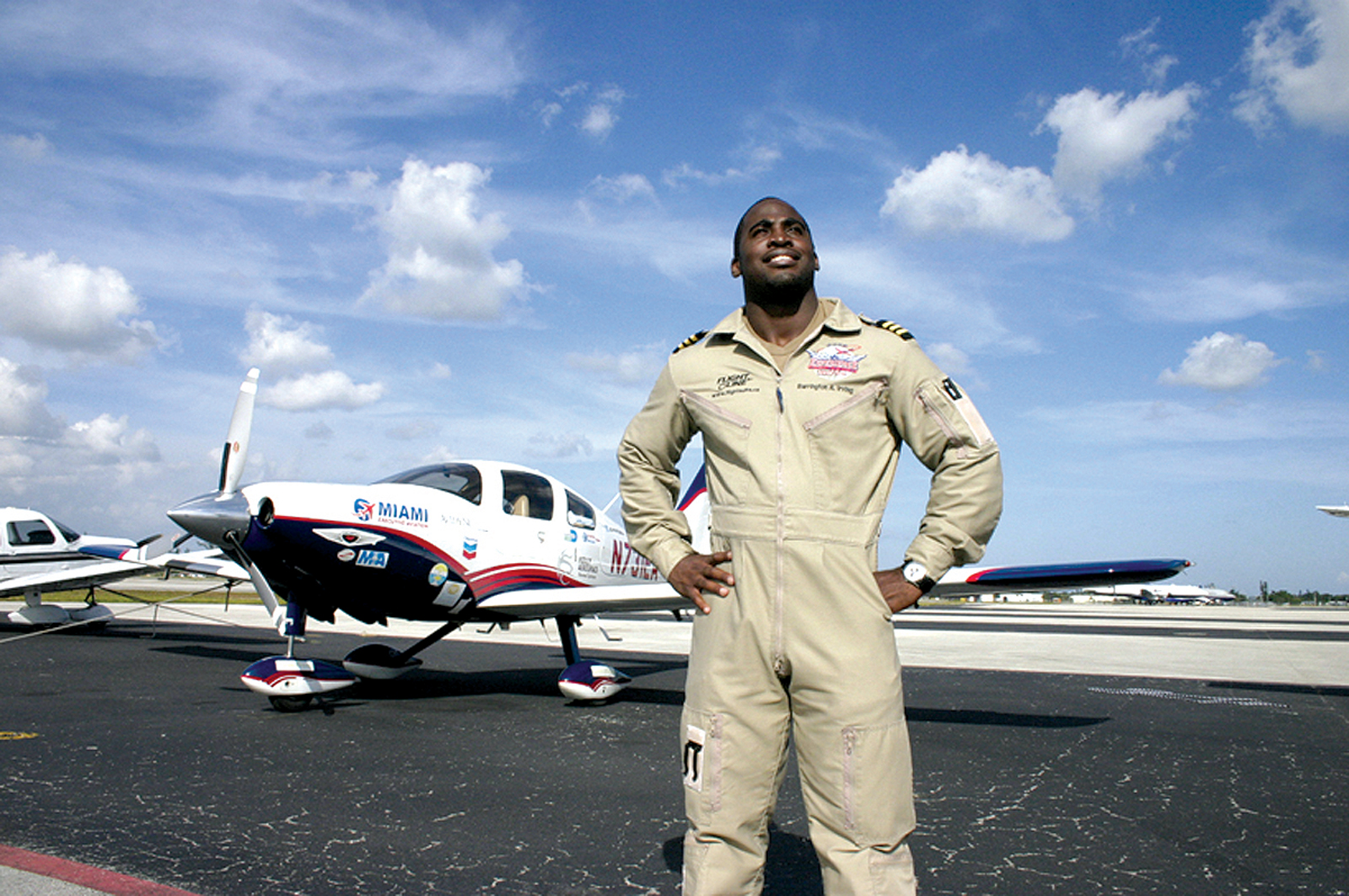 Inspiration on the Wing: Around the World and Back with Barrington Irving