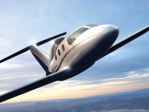 On July 6, Epic Aircraft celebrated the first flight of its Victory, a single-engine very light jet that seats up to five passengers.