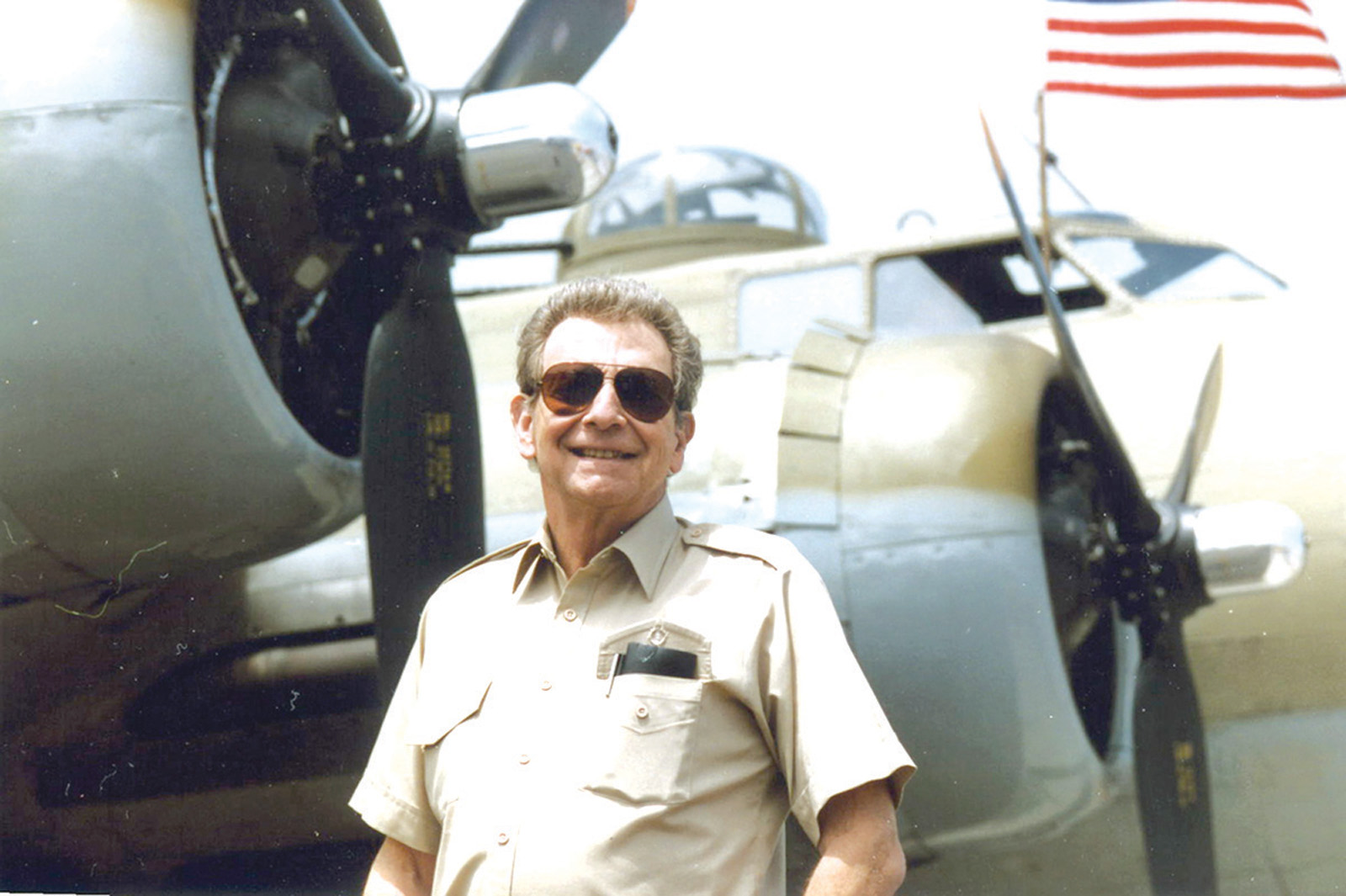 "Remembering Hal Fishman: ""The Flying Professor"" and Cherished Anchorman<br>8-25-31  Flown West 8-7-07"