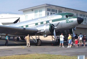 The Boeing Company recently acquired DreamFlight's DC-3, Rose, and donated it to an aviation museum in Brazil. Hundreds turned out for a going away pancake breakfast in early August.