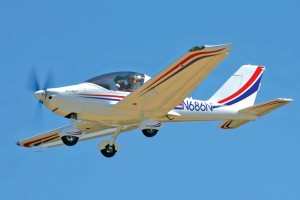 Lynn Kerby's TL-Ultralight Sting Sport is an example of the new light-sport aircraft class of kit planes now available.