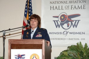 The featured luncheon speaker was Air Force Col. Colleen Ryan, 88th Air Wing commander, the first female commander of Wright Patterson Air Force Base.