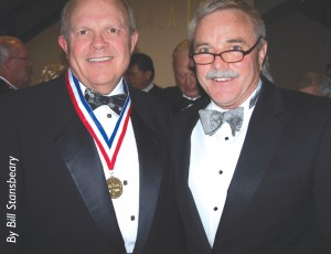 Steve & I at the 2007 Living Legends of Aviation awards ceremony.