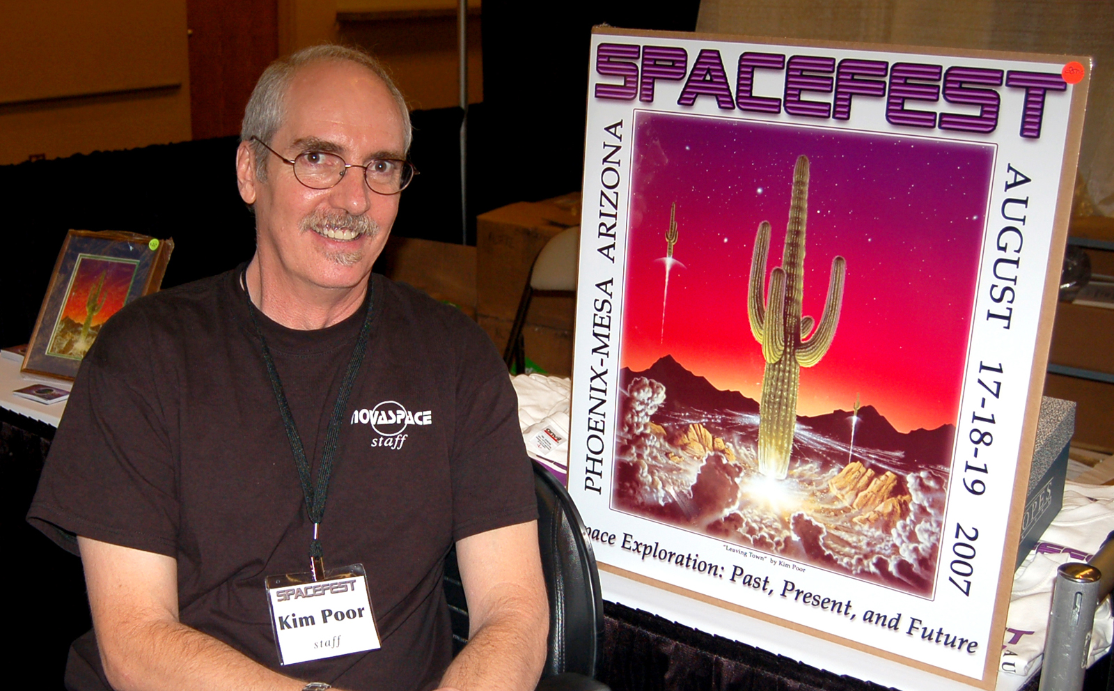 Space Cowboys Gravitate to Arizona's Spacefest 2007