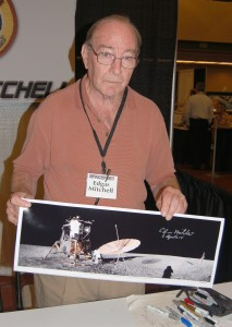 Edgar Mitchell flew on Apollo 14 in 1971 and was the sixth man to walk on the moon.