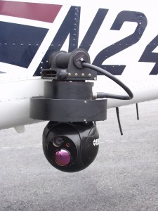 Forward-looking infrared cameras are a valuable tool for the Washington State Patrol. Even at night, the heat sensors and telephoto lenses give them an eagle's view of ground activity.