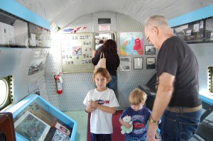 Tim Chopp dreamed of creating an educational exhibit about the Berlin Airlift, especially to educate children. His intent is to celebrate the airlift as a pivotal point in history—one that is almost forgotten in many schools today.