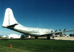 This photo was taken in 1994, two years before the Berlin Airlift Historical Foundation acquired their Boeing C-97G. The foundation plans to operate the Angel of Deliverance as a flying museum and classroom to educate about the Cold War.