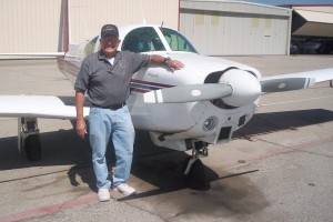 Anarg Frangos has owned this Mooney M20C since 1981, and he keeps it looking like new.