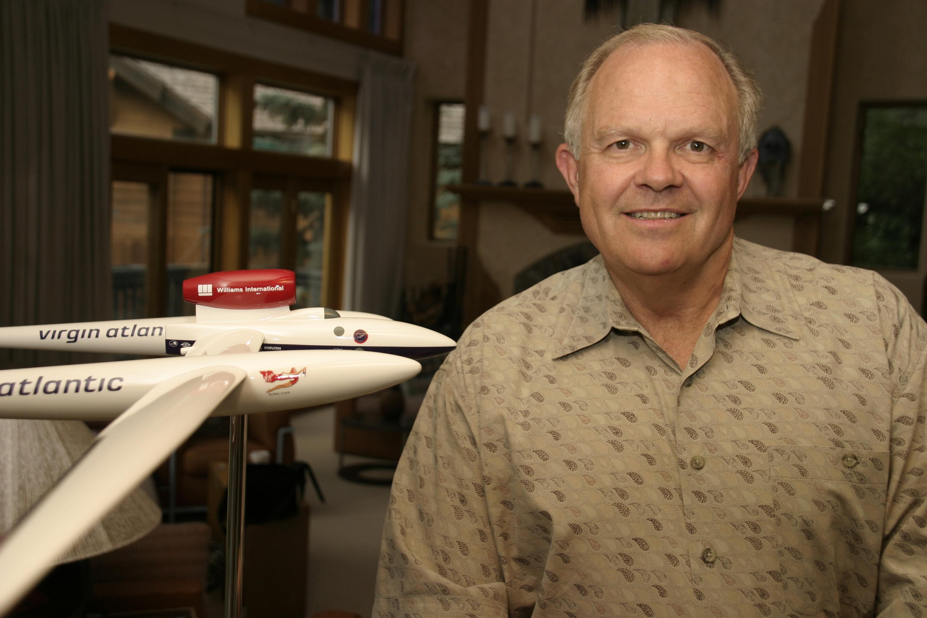 """Steve Fossett: Always Scouting For New Adventures 4-22-44 """"Flown West"""" 9-3-07"""