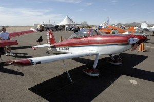 The Grand Champion winner at COPPERSTATE 2006 was Glenn Smith's RV-8, which also won first place in the custom-built metal category.