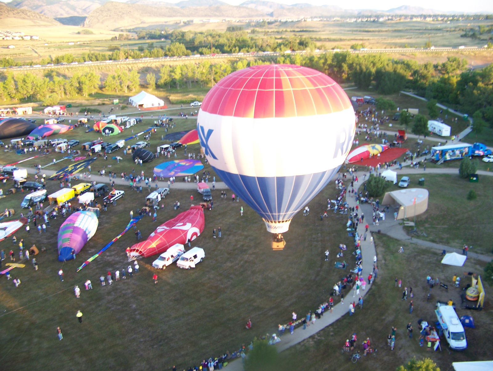 Coloring the Sky at Rocky Mountain Balloon Festival