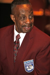 "Col. ""Buck"" Newsom, a member of the Tuskegee Airmen, was among the guests of honor at the Shades of Blue award dinner."