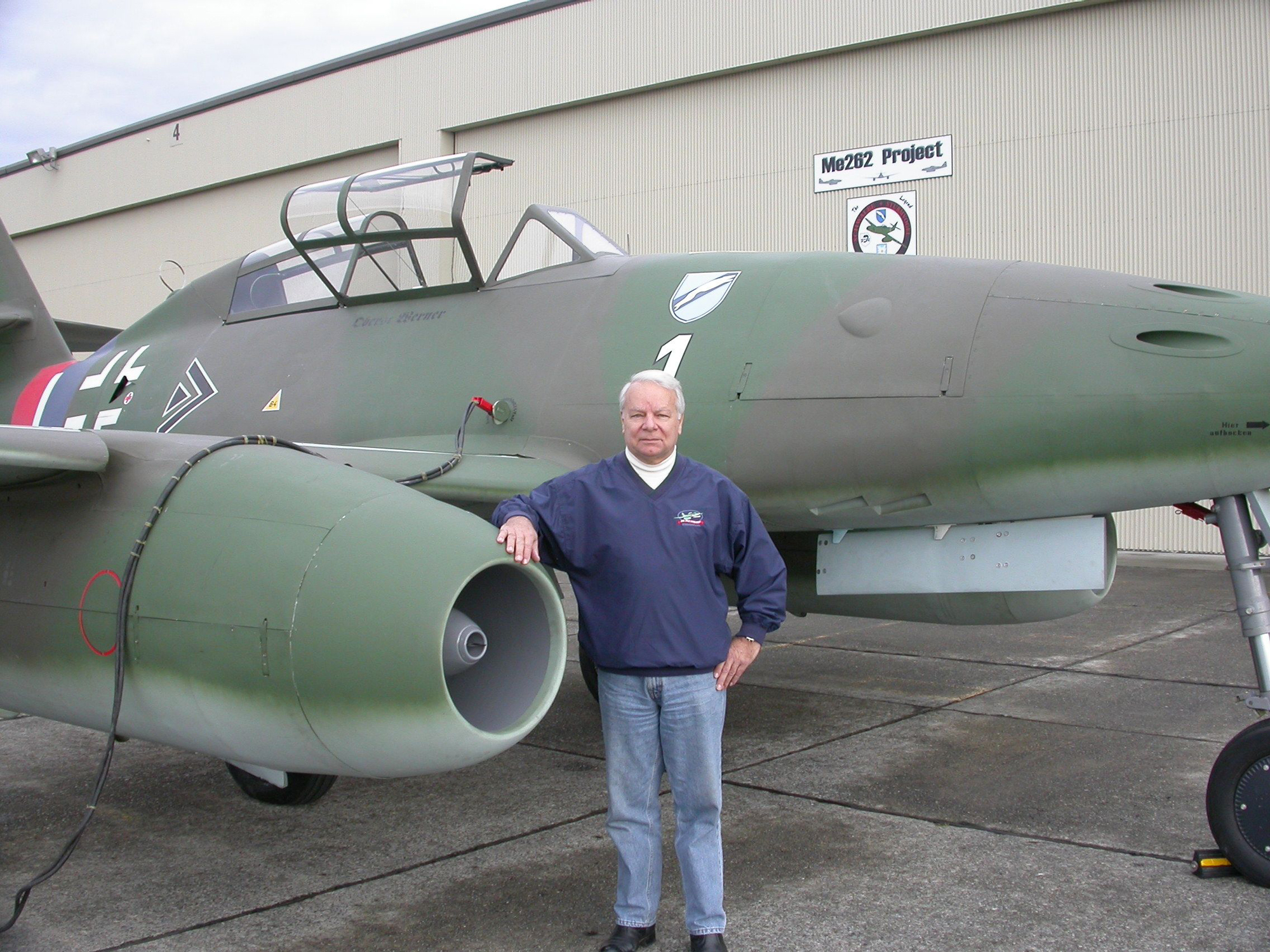 Test Pilot Wolf Czaia's New Book Reveals Challenges of Recreating Famed Me 262s