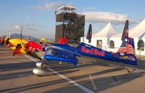 Kirby Chambliss' Edge 540 aircraft has a new wing designed specifically for racing.