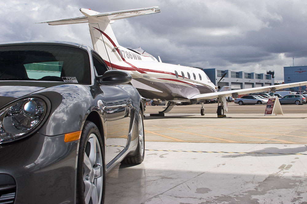 Jet Source Hosts Porsche Business Aircraft and Jet Preview