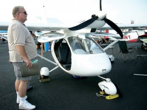 The Elitar-Sigma, a light-sport aircraft, is built in Russia.