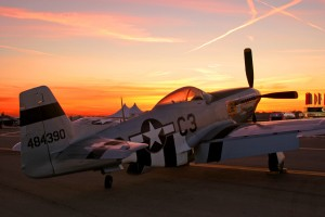 Doug Driscoll owns Section Eight, a North American P-51D Mustang from American Falls, Idaho.