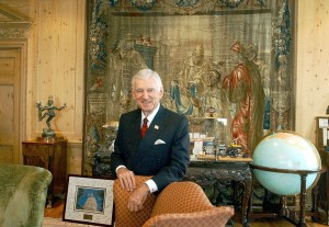 David H. Murdock, 83, a high school dropout worth $4.7 billion, owns Castle & Cooke Inc. and Dole Food Company Inc. Murdock, an active participant in aviation, has developed aircraft hangars and office structures at Van Nuys Airport since 1981.