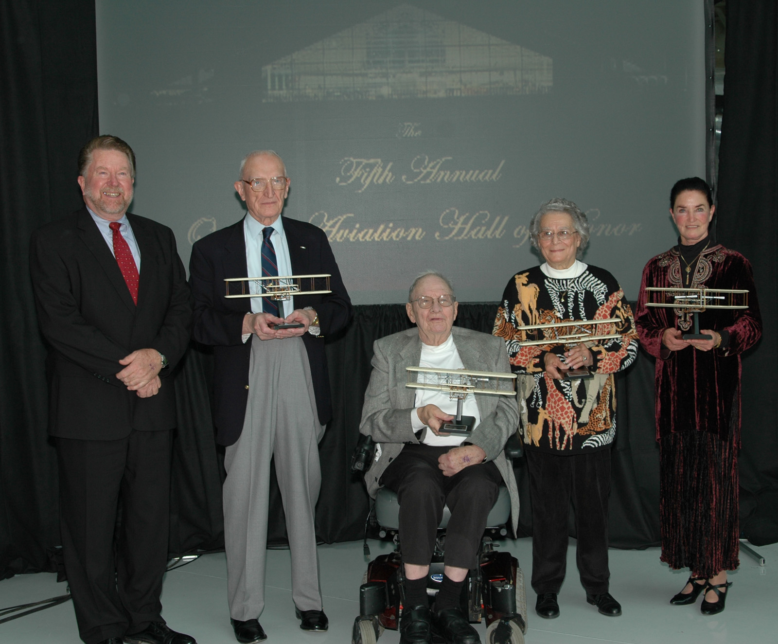Five Inducted into Oregon Aviation Hall of Honor