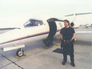 Since buying his first airplane, an Ercoupe, John Travolta has owed a Gulfstream, Lear 24, Hawker 1A, Citation I and II, Canadair Tebuan (Snowbirds) and de Havilland Vampire jets, 707, Douglas DC-3, Constellation, JetStar 731 and an Eclipse 500.