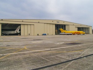 The Flight Star aircraft modification facility in Jacksonville, Fla., is EagleSpan's current largest clear-span building at 648 feet by 240 feet. The company is currently working on a building in Singapore that will offer much larger clear-span dimensions