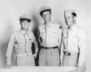 L to R: Flying Tigers Charlie Bond, Tex Hill and Ed Rector, received the British Flying Cross for gallantry in Burma from Lord Halifax, in Washington, D.C., in 1943.