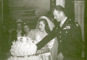 Lt. Col. Tex Hill married Mazie Sale on March 27, 1943, two weeks after noticing her at the First Presbyterian Church in Victoria, Texas.