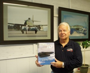 """Project 262, The Test Pilot's Journal"" is Wolf Czaia's newly published coverage of his Me 262 Project flight experiences at Paine Field. The book includes more than 150 color photos and a DVD of test flight videos narrated by the author."