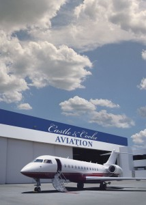 Castle & Cooke Aviation's new hangar in Hawaii, with David H. Murdock's Global Express parked out front, is hard to miss. The company is building new, elaborate FBO facilities at what used to be Circle Rainbow at Honolulu International Airport.